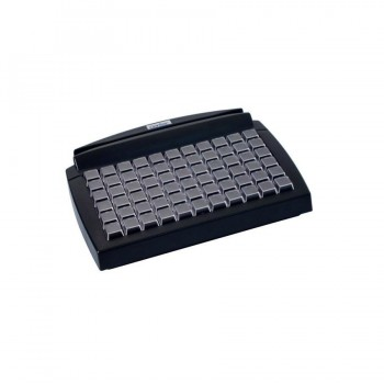 Teclado Gertec Tec-E 66 LEC 2 PS2 - preto