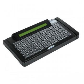 Teclado Gertec Tec-E 65 Dis USB - preto