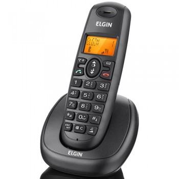 Telefone s/Fio Elgin TSF7001 Identificador ilum, v.voz