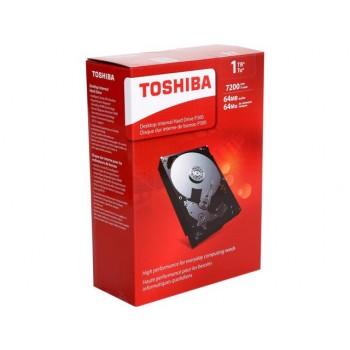 "Disco Rígido Toshiba 1TB 7200RPM 3,5"" p/ desk HDWD110XZSTA"