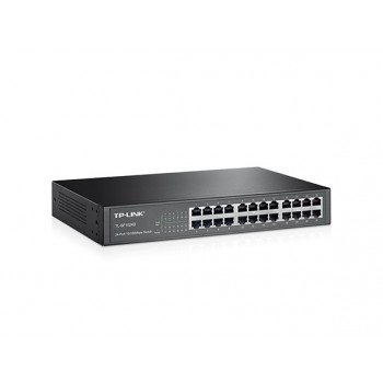Switch TP-LINK Rack 24 Portas 10/100Mbps TL-SF1024D