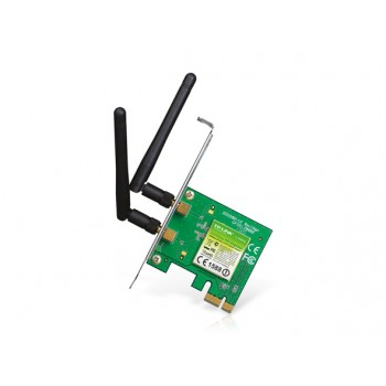 Placa de Rede TP-LINK PCIExpress Wireless 300Mbps TL-WN881ND