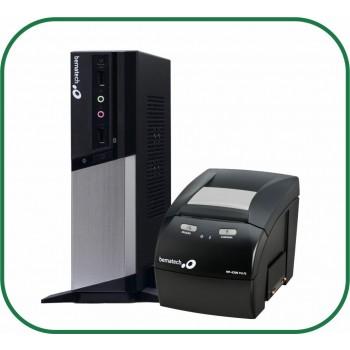 Kit Bematech Computador RC-8400 + Impressora Térmica Não Fiscal MP-4200 TH USB