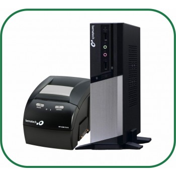 Kit Bematech Computador RC-8400 4GB 2 SERIAIS + Impressora Fiscal MP-4200 TH FI II