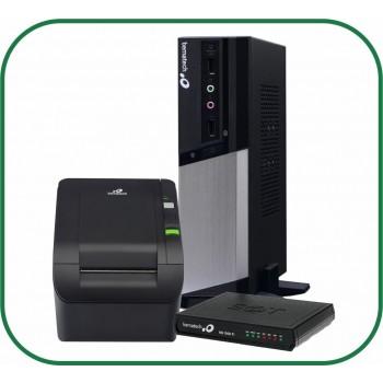 Kit Bematech Computador RC-8400 4GB 2 SERIAIS + SAT RB-2000 + Impressora não fiscal MP-100S TH