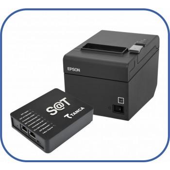 Kit SAT Fiscal Tanca + Impressora não fiscal Epson TM-T20
