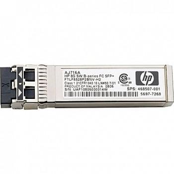 Transceiver HP MSA 2040 8Gb Fibre Channel SFP+ Pack com 4