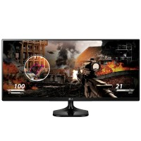 "Monitor LG 25"" FHD IPS 25UM58 UltraWide HDMI Headphone Out"