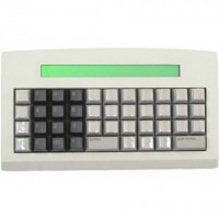 Teclado KT-44 Keytec com Display 40x2 PS2
