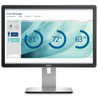 MONITOR DELL P2016 19 5 C/ AJUSTE - CABO DP / USB 3 ON-SITE
