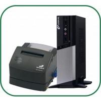 Kit Bematech Computador RC-8400 4GB 2 SERIAIS + Impressora Fiscal MP2100 TH FI GRAFITE