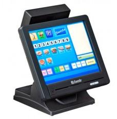"""Sweda SPT2000LCD de 15"""" com Touch Screen resolução1024x768, Intel Atom DualCore D525 1.8Ghz, Memória 2Gb DDR3 ou superior,, HD 320Gb 2.5""""Padrão Sata, 3 Portas Seriais, 5 Portas USB 2.0, Display Cliente 20Colunas X 2 Linhas ou 8"""" (opcional), Leitor de Cart"""