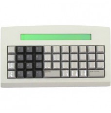 Teclado KT-44 Keytec com Display 40X2 USB/SERIAl