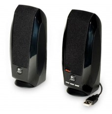 Caixa de Som (par) Logitech S150 USB - Preta