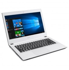 Notebook Acer 14' E5-473-370Z i3-5015U 4GB 1TB W10-BRANCO