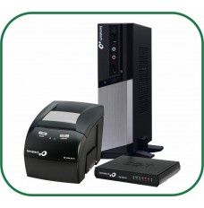 Kit Bematech Computador RC-8400 4GB 2 SERIAIS + SAT RB-2000 + Impressora térmica MP-4200 TH USB