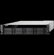 Servidor QNAP TS-863U-RP - Storage NAS 8 baias 32TB Rack